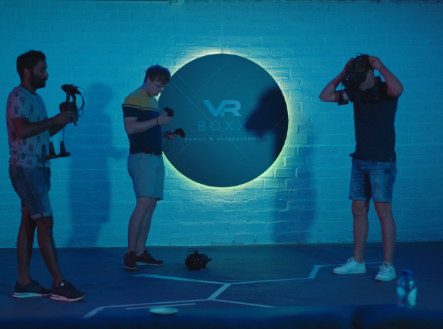 Legerjeep en VR Escape room