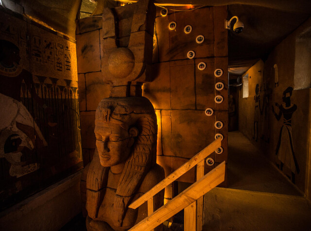 Legerjeep en Escape room